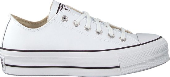 Converse Dames Lage sneakers Chuck Taylor All Star Lift Wit Maat 42