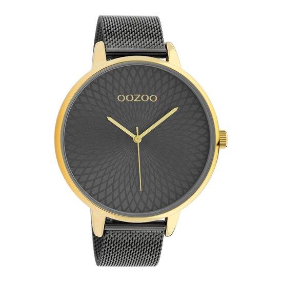 OOZOO Timepieces Zilverkleurig horloge C10554