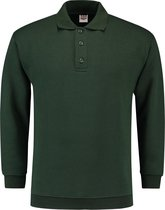 Tricorp Polo Sweater Boord  301005 Flessengroen  - Maat S