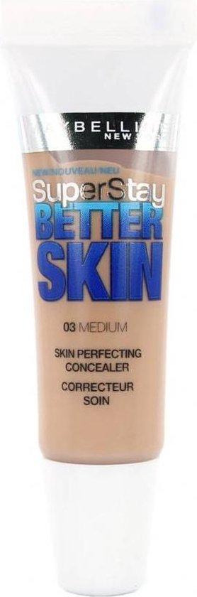 Maybelline SuperStay Better Skin Concealer – 03 Medium
