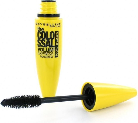 Maybelline Mascara The Colossal 100% Black