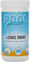 Pool Power Mini Flacon Desinfectie- en Anti-algmiddel voor Zwembaden - 1 kg (Chloor tabletten 90% actief chloor)