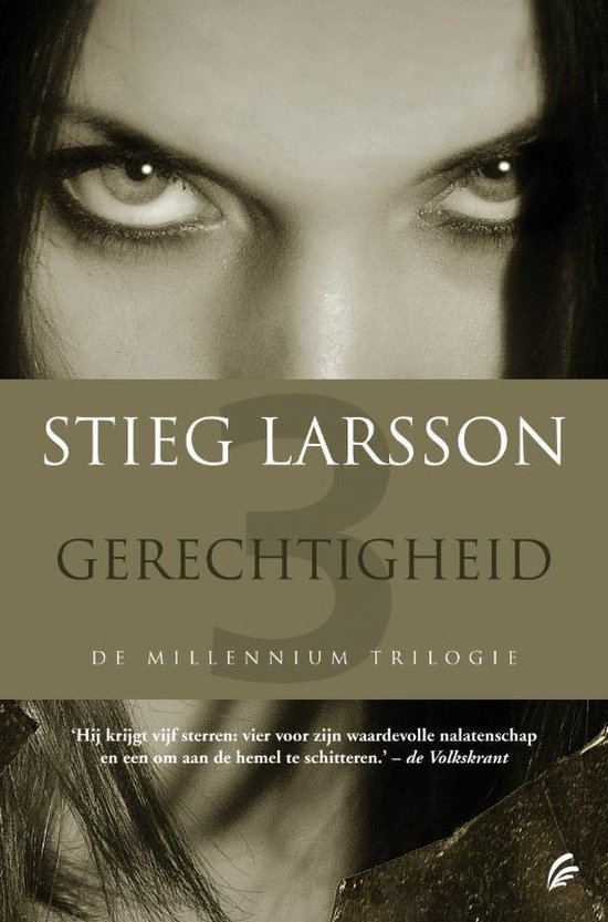 Boek cover Millennium 3 - Gerechtigheid van Stieg Larsson (Paperback)