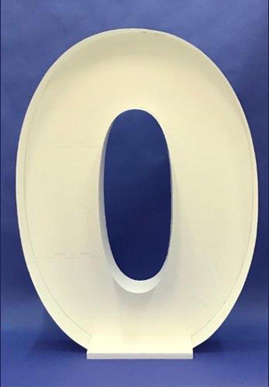 Ballon Mozaiek frame Letter O (100cm)