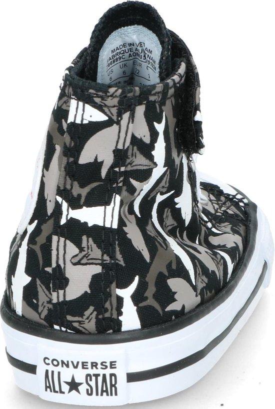 Converse Chuck Taylor All Star 1V High Top sneakers zwart - Maat 21