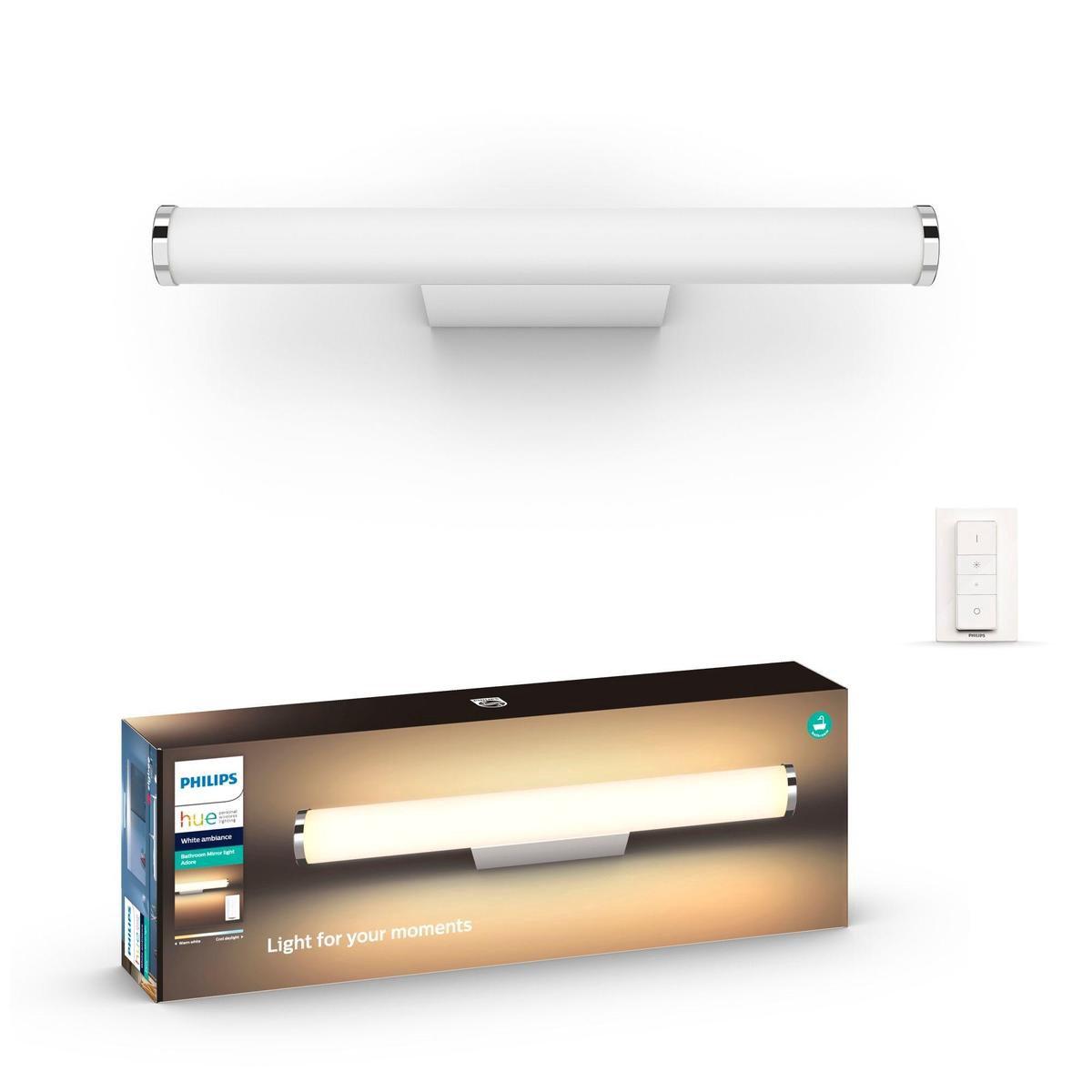 Philips Hue Adore badkamerwandlamp - White Ambiance - Wit - 42,4cm