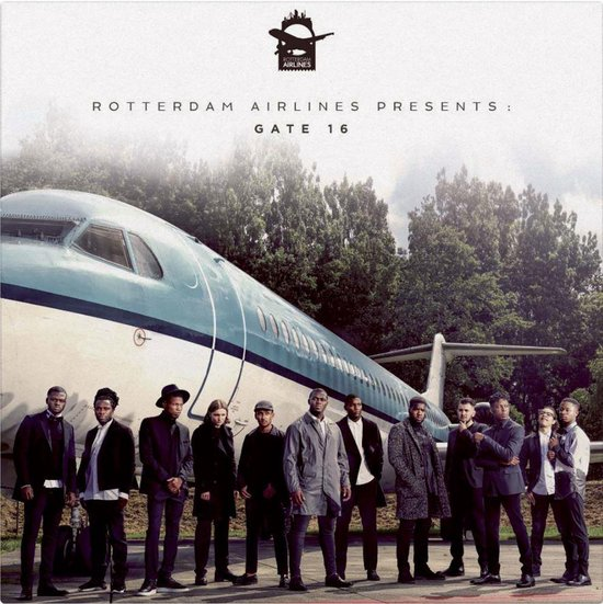 Gate 16 (Coloured Vinyl) (2LP) - Rotterdam Airlines
