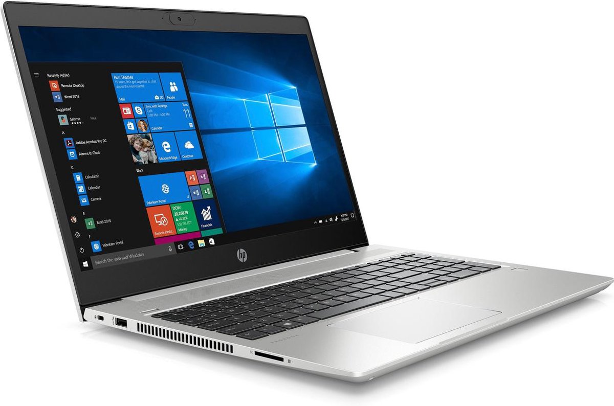 HP Probook 450 G7 - Beste koop laptop 2021 voor fotobewerking en kleine videos bewerken