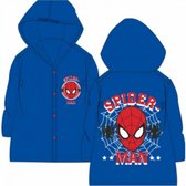 Spiderman- regenjas - blauw