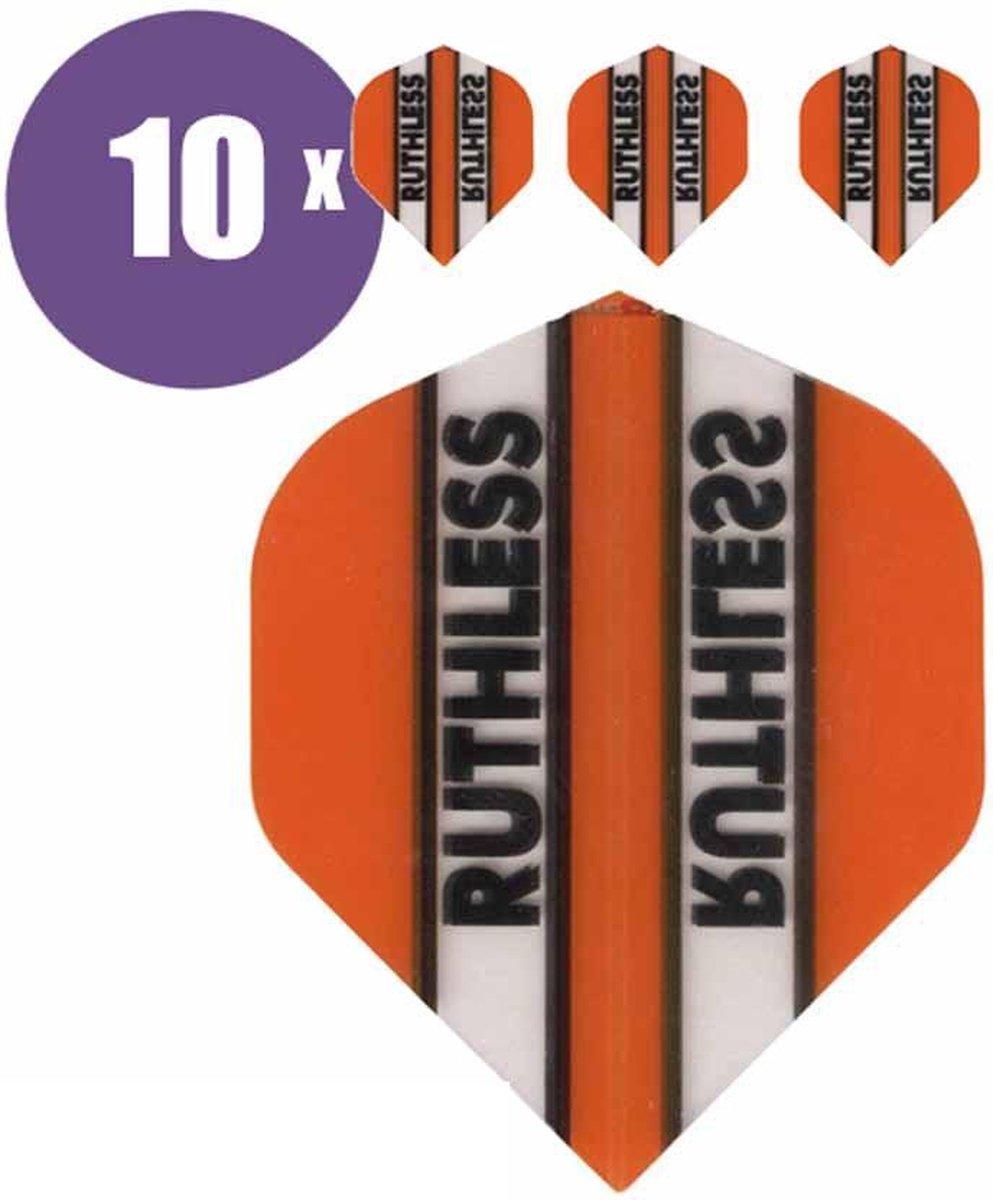 ABC Darts Flights - Ruthless Classic Oranje - 10 sets (30 st.) Dart Flights