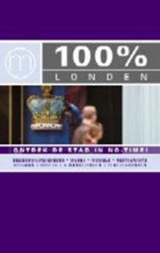 Cover van het boek '100 % London / Engelstalige editie' van Marjan van den Berg en  Mo''Media