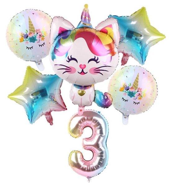 ballonboeket Unicorn poes 3