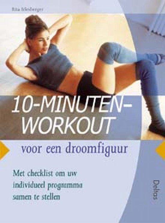 Cover van het boek '10-minuten work-out voor een droomfiguur' van Rita Irlesberger
