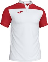 Joma Crew Iii Polo - Wit / Rood | Maat: L