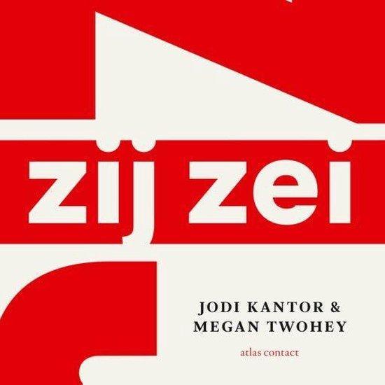 Boek cover Zij zei van Jodi Kantor (Onbekend)