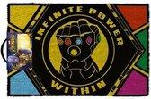 Avengers - Infinite Power Within Door Mat