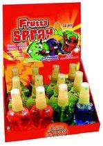 FruitSpray- FruttaSpray. 12 flesjes- traktatie