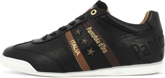 Pantofola d'Oro Imola Uomo Stampa Lage Zwarte Heren Sneaker 44
