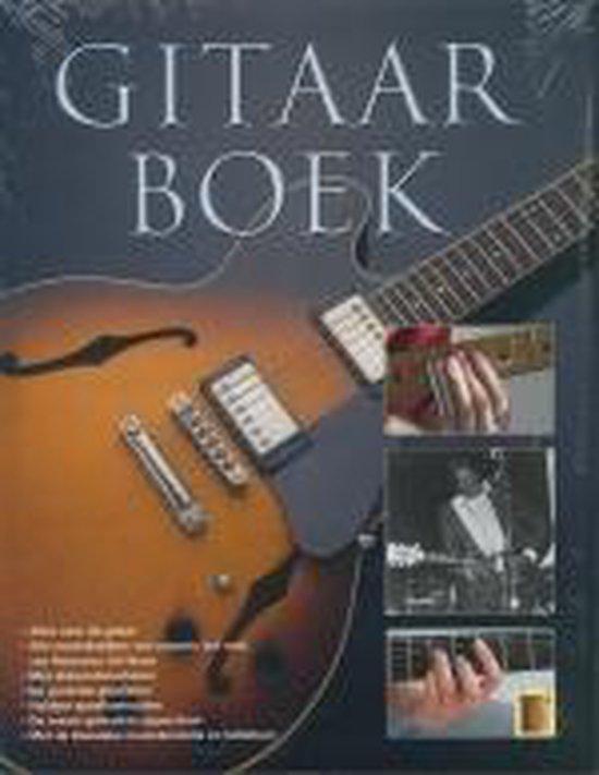 Cover van het boek 'Het gitaarboek'