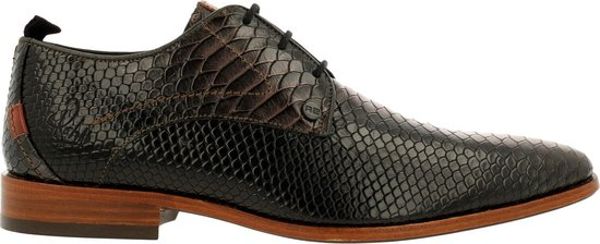 Rehab Greg Snake M Lace-Up Men Brown-Black 43