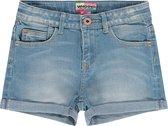 Vingino Essentials Kinder Meisjes High Waist Short Jeans