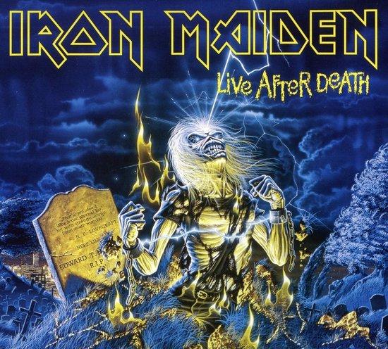 CD cover van Live After Death van Iron Maiden