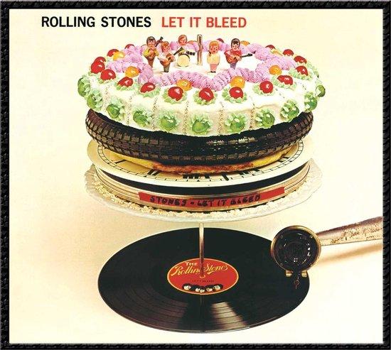 CD cover van The Rolling Stones - Let It Bleed van The Rolling Stones