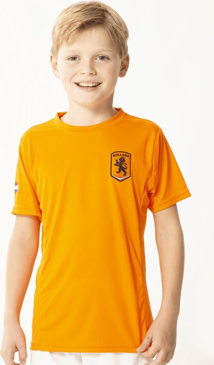 Nederland Nederlands Elftal Oranje T-Shirt Heren Junior - Maat 164