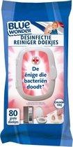Blue Wonder 6 x 80 doekjes - antibacteriële doekjes - desinfectie doekjes - hygiëne doekjes