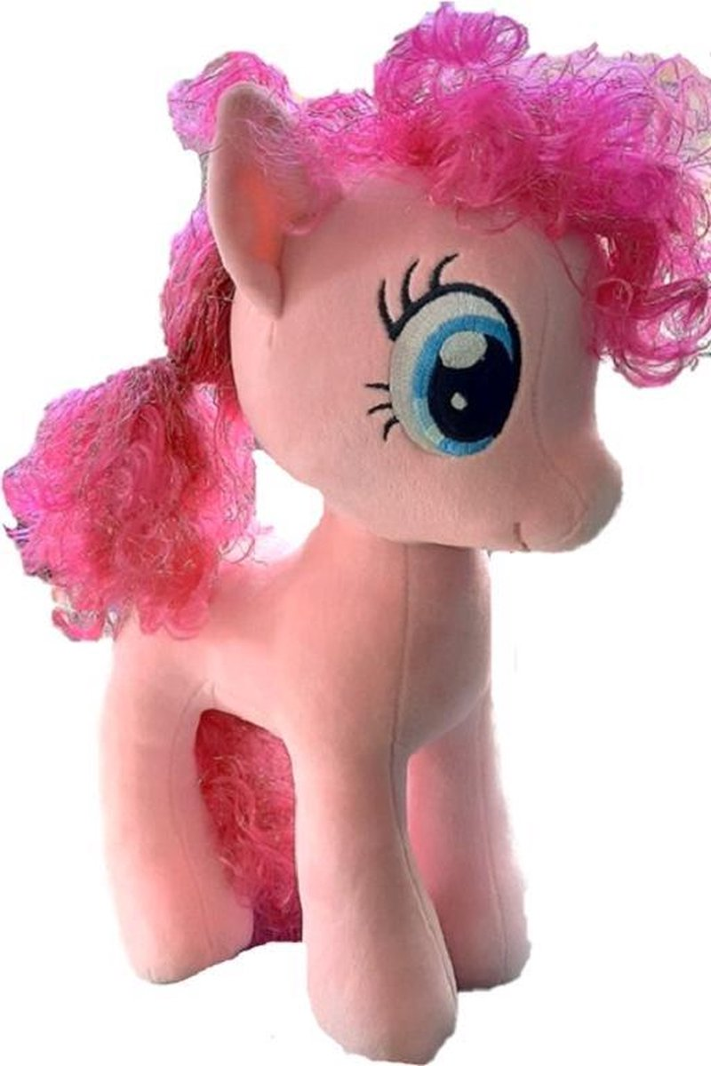 My Little Pony Pinkie Pie knuffel - 42 cm - Met glinsterend haar