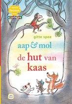 Leren lezen met Kluitman  -   aap & mol. de hut van kaas