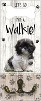 Leibanddrager: chichu - Kapstok voor: Hondenriem - Halsband - Hondentuig