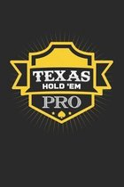 Texas Hold 'em: 6x9 Poker - grid - squared paper - notebook - notes