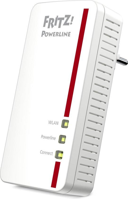 AVM FRITZ!Powerline 1260E - Powerline / Wifi / Uitbreiding - 1 stuk