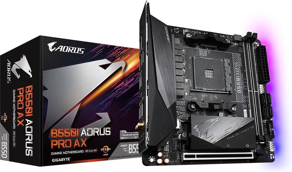 Gigabyte B550I AORUS PRO AX Socket AM4 Mini ITX AMD B550 kopen