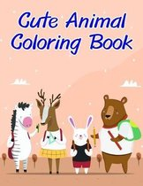 Cute Animal Coloring Book
