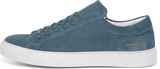 Blauwe sneakers van suede voor Heren - Mid Blue - 40
