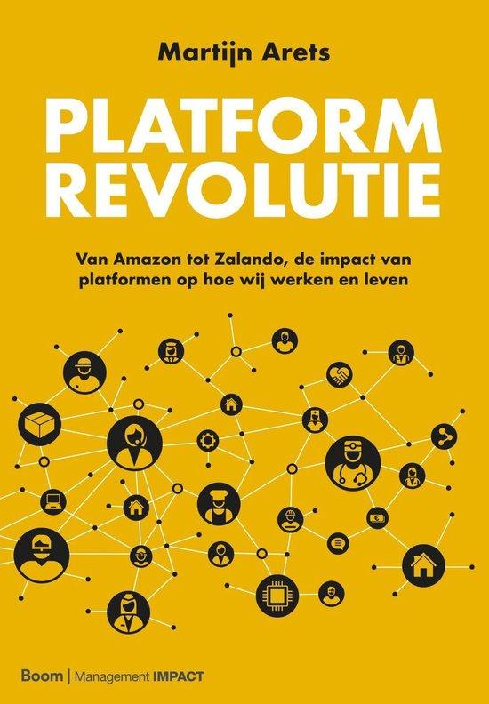 Boek cover Platformrevolutie van Martijn Arets (Onbekend)