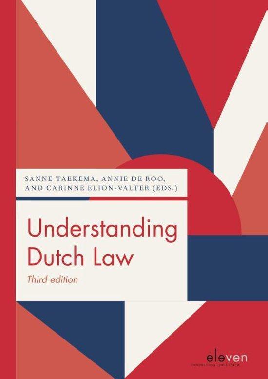 Boek cover Understanding Dutch Law van  (Paperback)