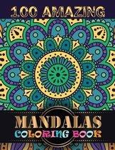 100 Amazing Mandalas Coloring Book