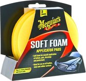 Meguiars X3070 Gold Class High Tech Applicator Pad (Soft Foam) - 2 Pack