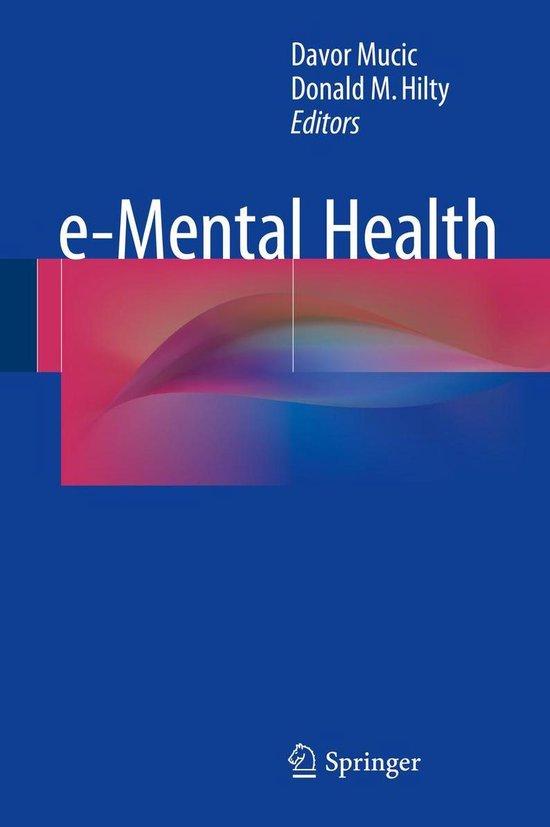 e-Mental Health