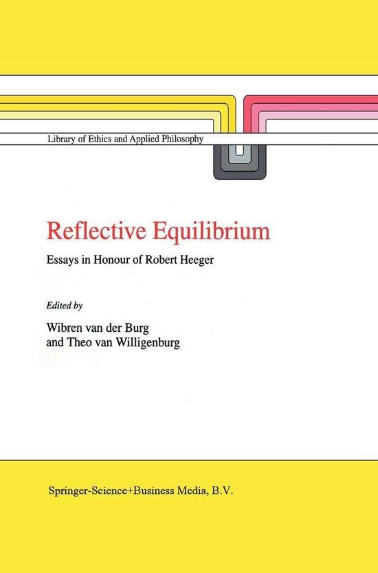 Boek cover Reflective Equilibrium van  (Onbekend)