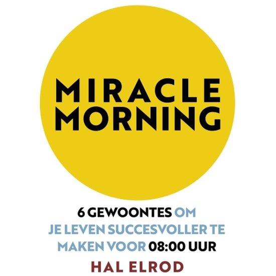 Boek cover Miracle Morning van Hal Elrod (Onbekend)