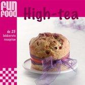 Funfood - high-tea