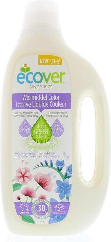 Ecover Wasmiddel Vloeibaar Color - Inhoud 1,5L - 1 stuk
