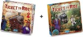 Ticket to Ride USA met uitbreiding Map Collection - Africa / Afrika - Combi Deal