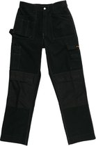 Gevavi Workwear GW02 Zwart Multibroek Heren