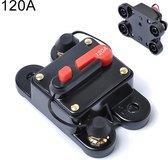 120A DC 12-24V Autoradio Stereo Stroomonderbreker Automatische Reset Zekeringhouder