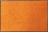 Droogloopmat oranje - 90 x 120 cm